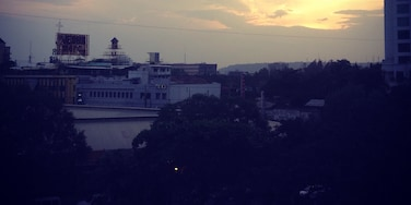 Beautiful sunset from the 4th flr building in school 👌