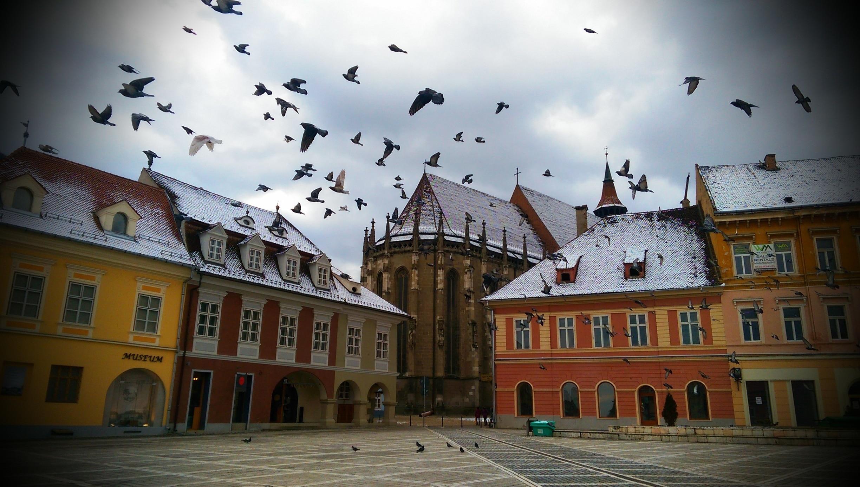 Brasov City Centre, Brasov, Brașov County, Romania