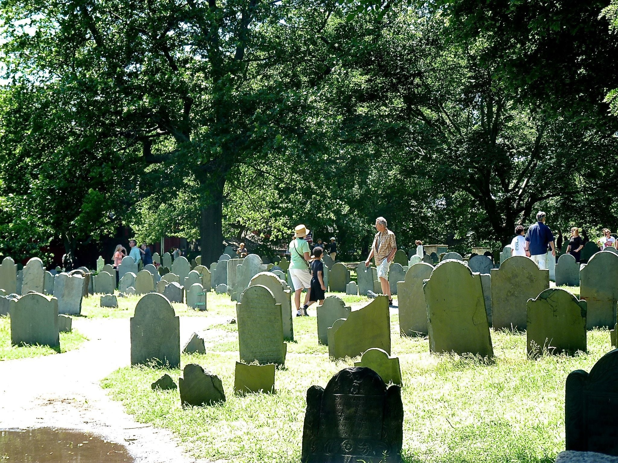Salem Witch Trials Memorial, Salem, Massachusetts, United States of America