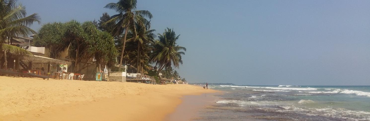 Пляж Hikkaduwa, Шри-Ланка