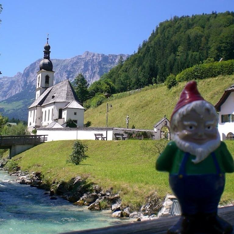 Pfarrkirche St. Sebastian, Ramsau bei Berchtesgaden, Bayern, Deutschland