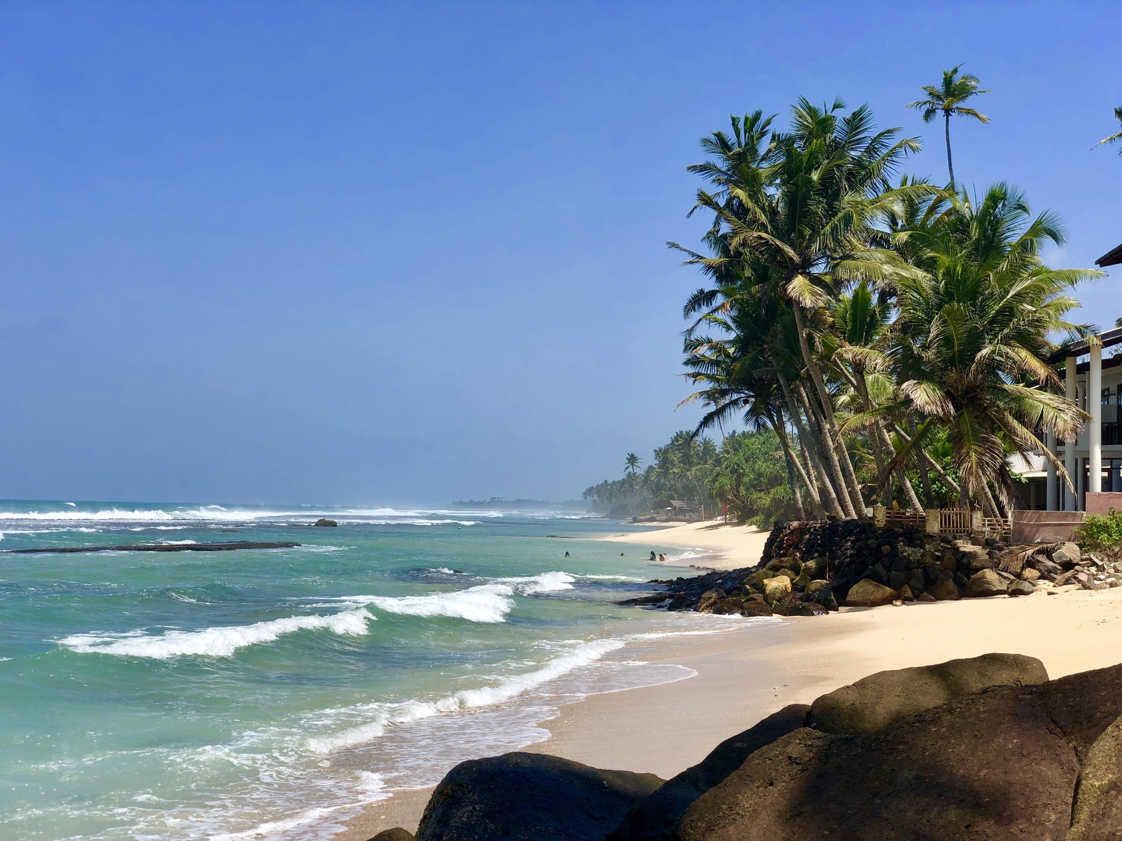 Madiha Beach, Matara, Southern Province, Sri Lanka