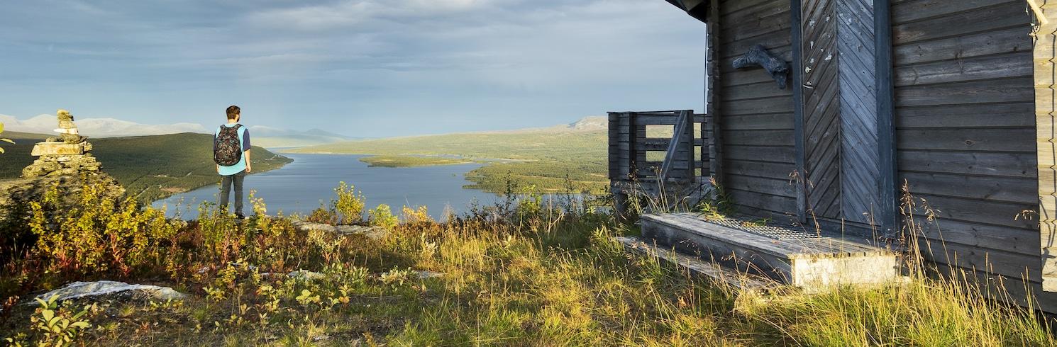 Klimpfjäll, Švédsko
