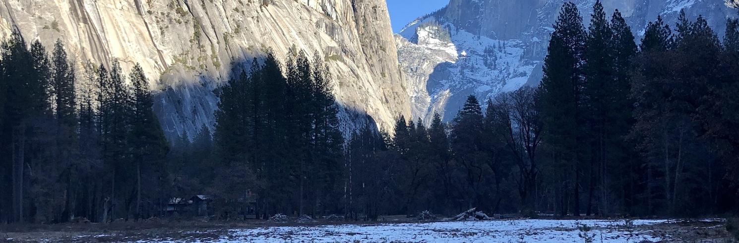 Yosemite Village, Kalifornie, USA