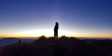 A beautiful moment captured a few meters below the summit of Mt Pulag