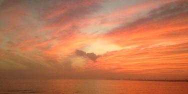 Beautiful sunset shot 🌅😍