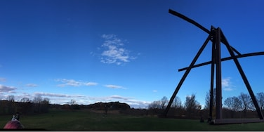 A 500 acre outdoor sculpture park in Hudson Valley NY. And one of my favorite places to go in the fall.