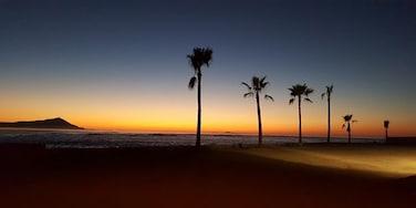 Beautiful twilight at Estero Beach Resort