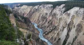 Yellowstone'i Grand Canyon