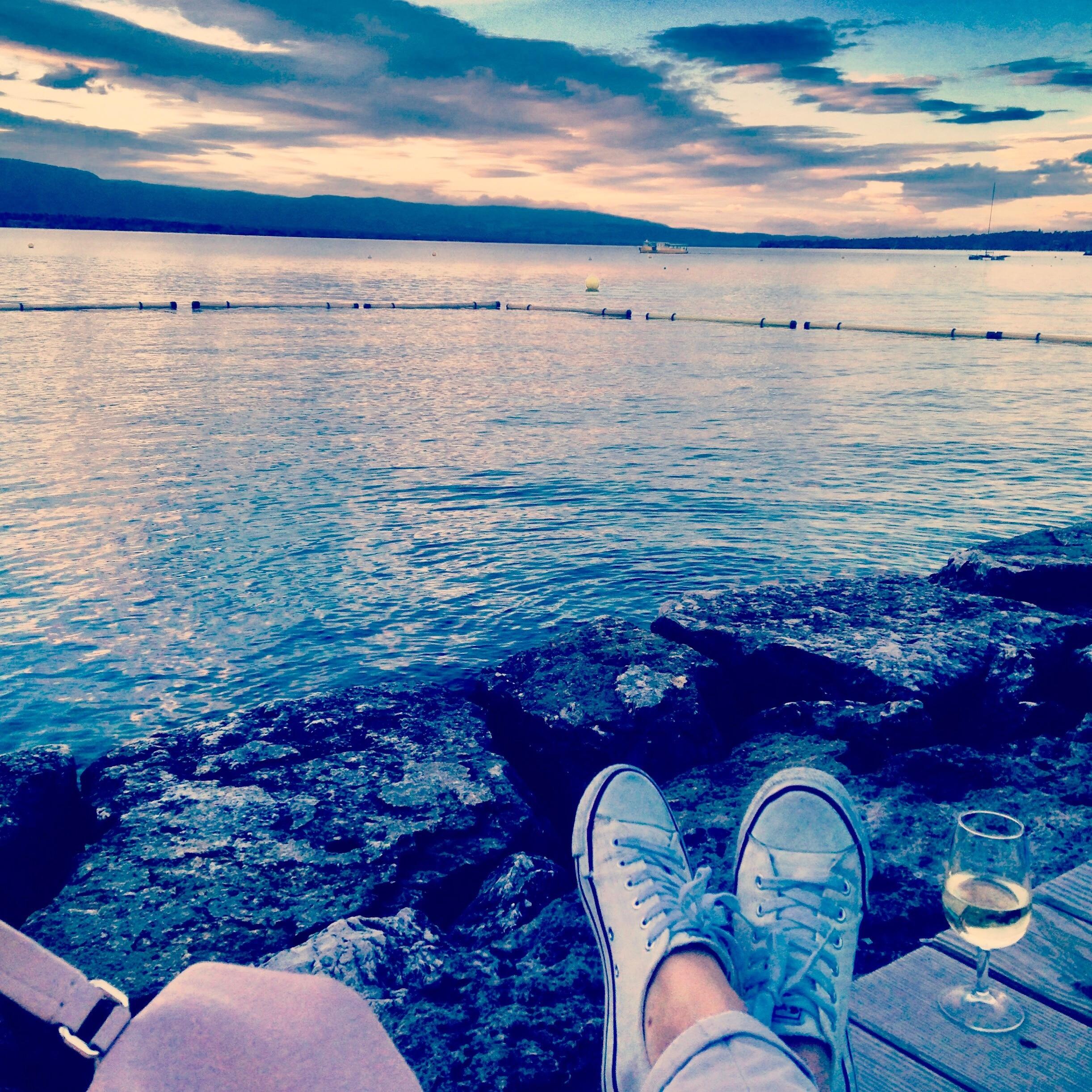 Baby Beach, Geneva, Canton of Geneva, Switzerland