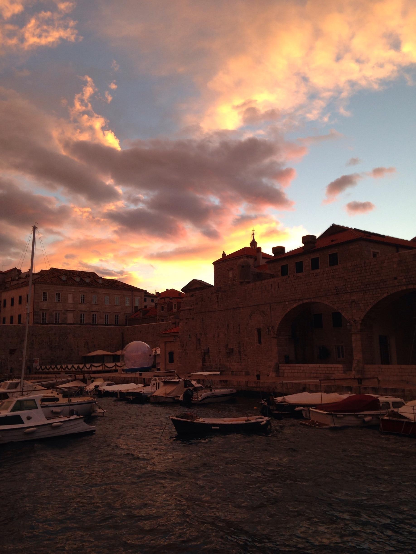 Old Town Harbor, Dubrovnik, Dubrovnik-Neretva, Croatia