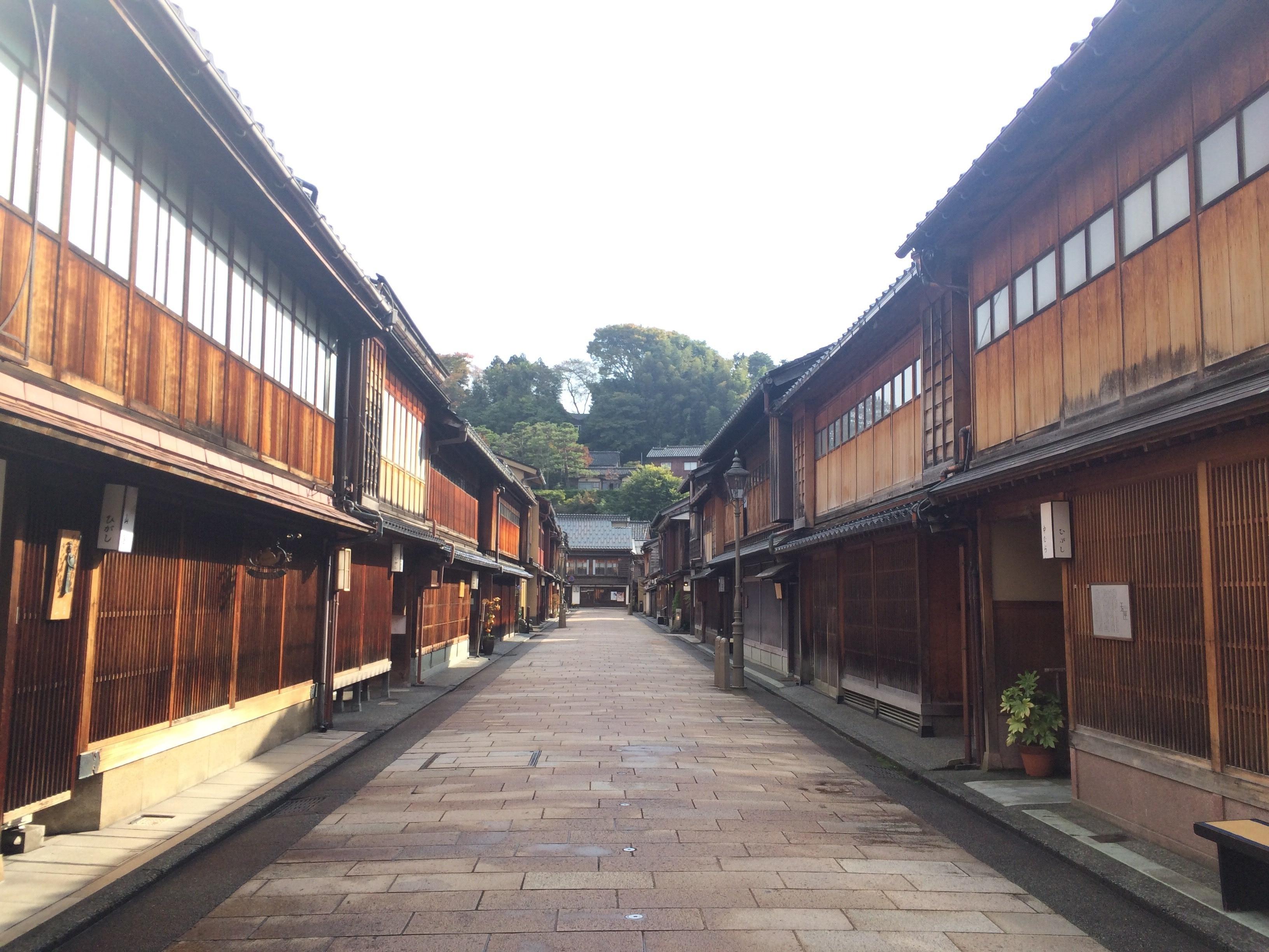 Higashi Chaya District, Kanazawa, Ishikawa (prefektur), Japan
