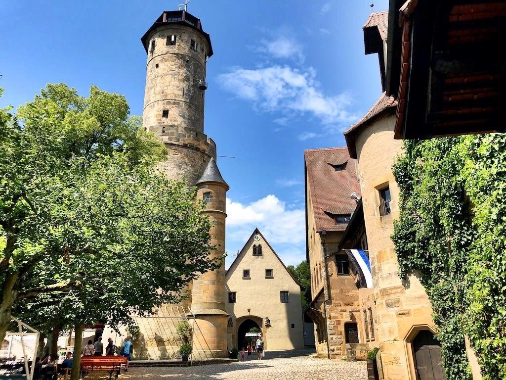 Burg Altenburg, Bamberg, Bayern, Deutschland