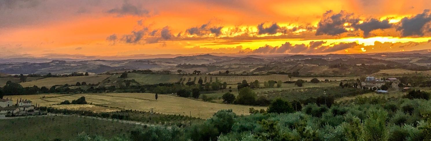 Rapolano Terme, Italien