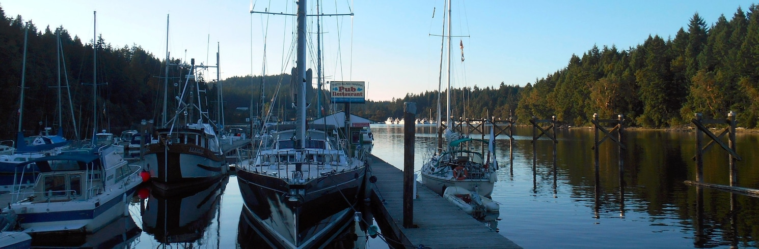 Thetis Island, Britisk Columbia, Canada