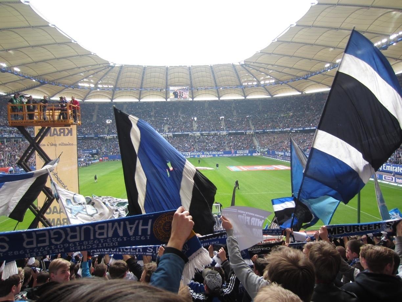 Volksparkstadion, Hamburg, Deutschland