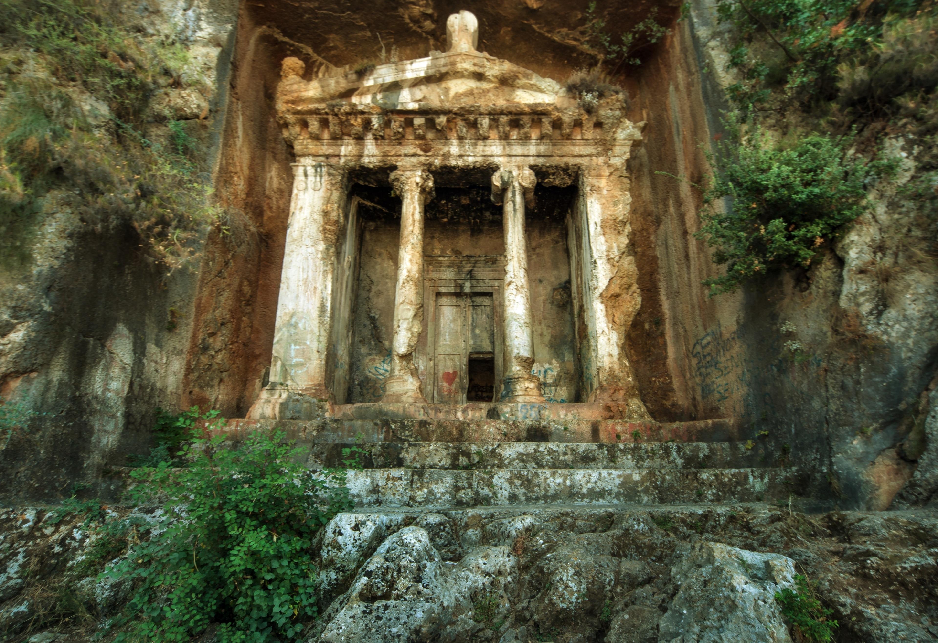 Grab des Amyntas, Fethiye, Muğla, Türkei