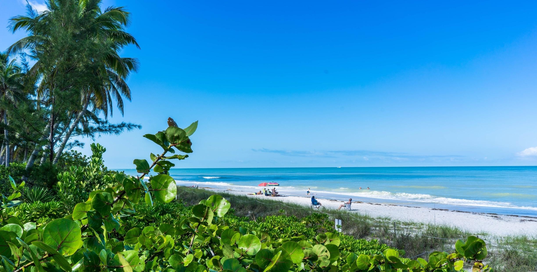 Naples Beach, Naples, Florida, Stati Uniti d'America