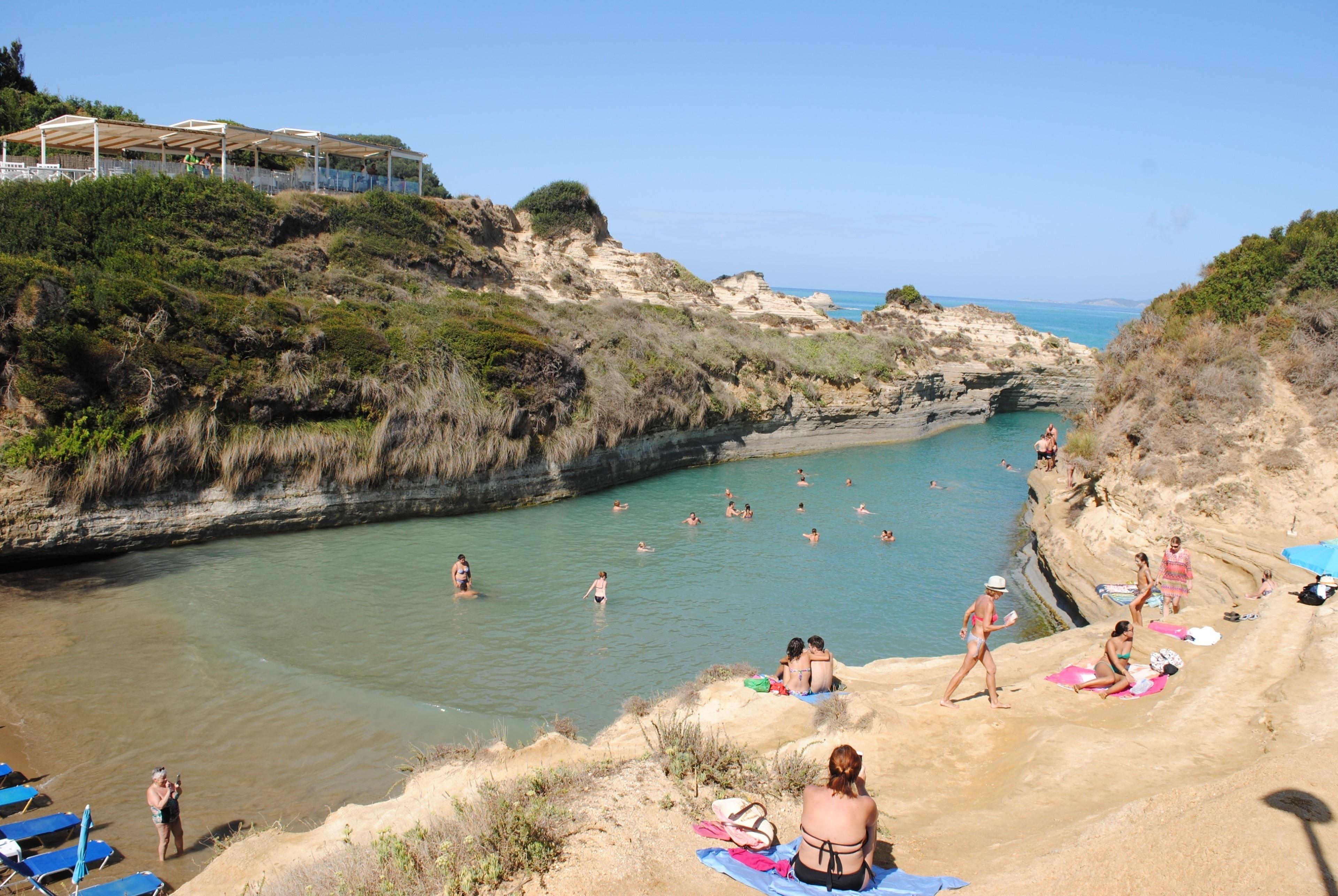 Sidari Beach, Corfu, Ionian Islands Region, Greece