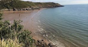 Kasvelas līča pludmale