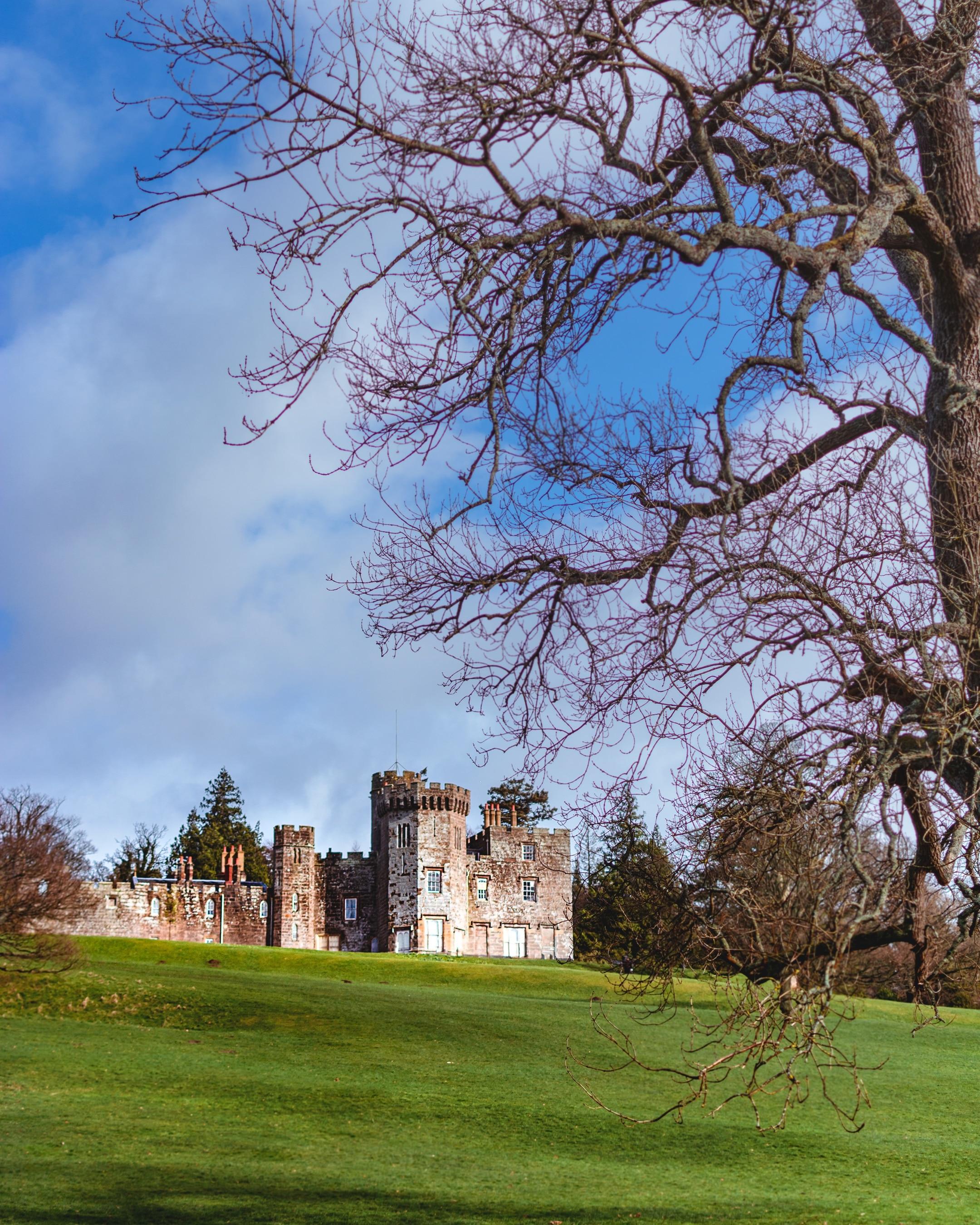 Balloch Castle, Alexandria, Scotland, United Kingdom