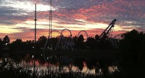 Six Flags Darien Lake'i teemapark