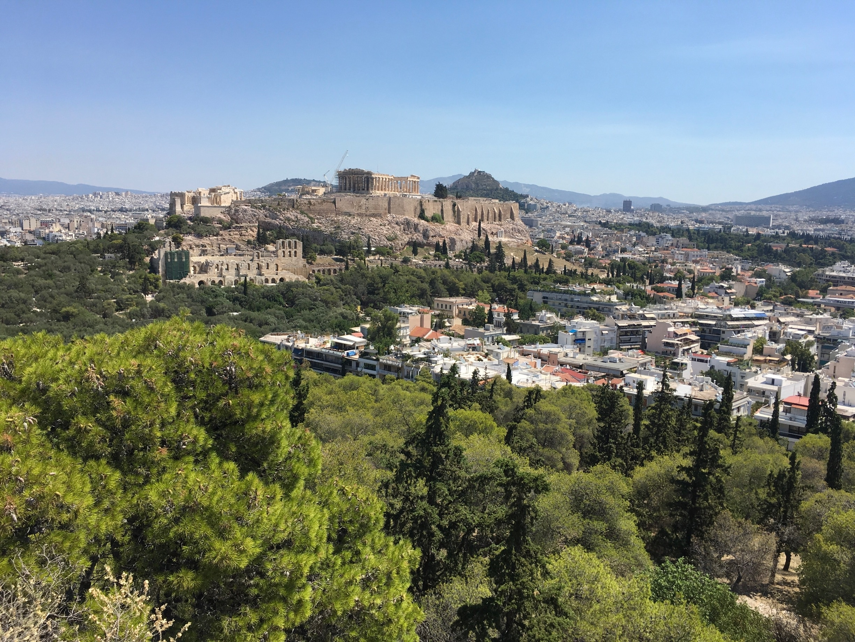 Philopapposhügel, Athen, Attica, Griechenland