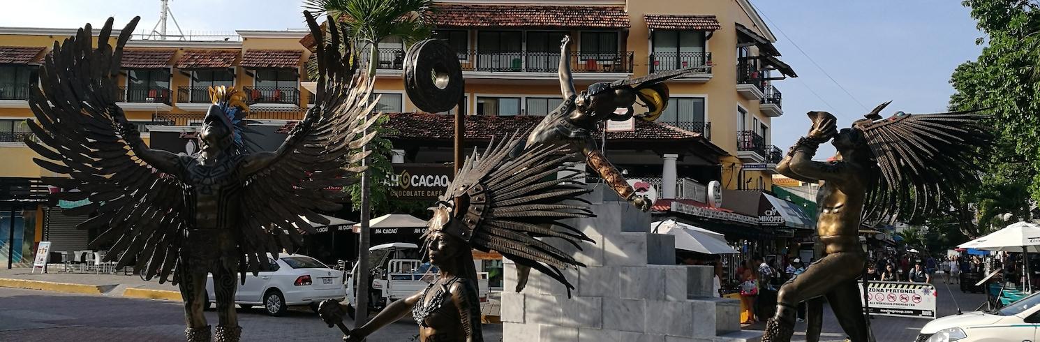 卡曼海灘, 墨西哥