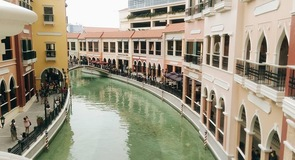 Venedig Grand Canal Shoppingcenter
