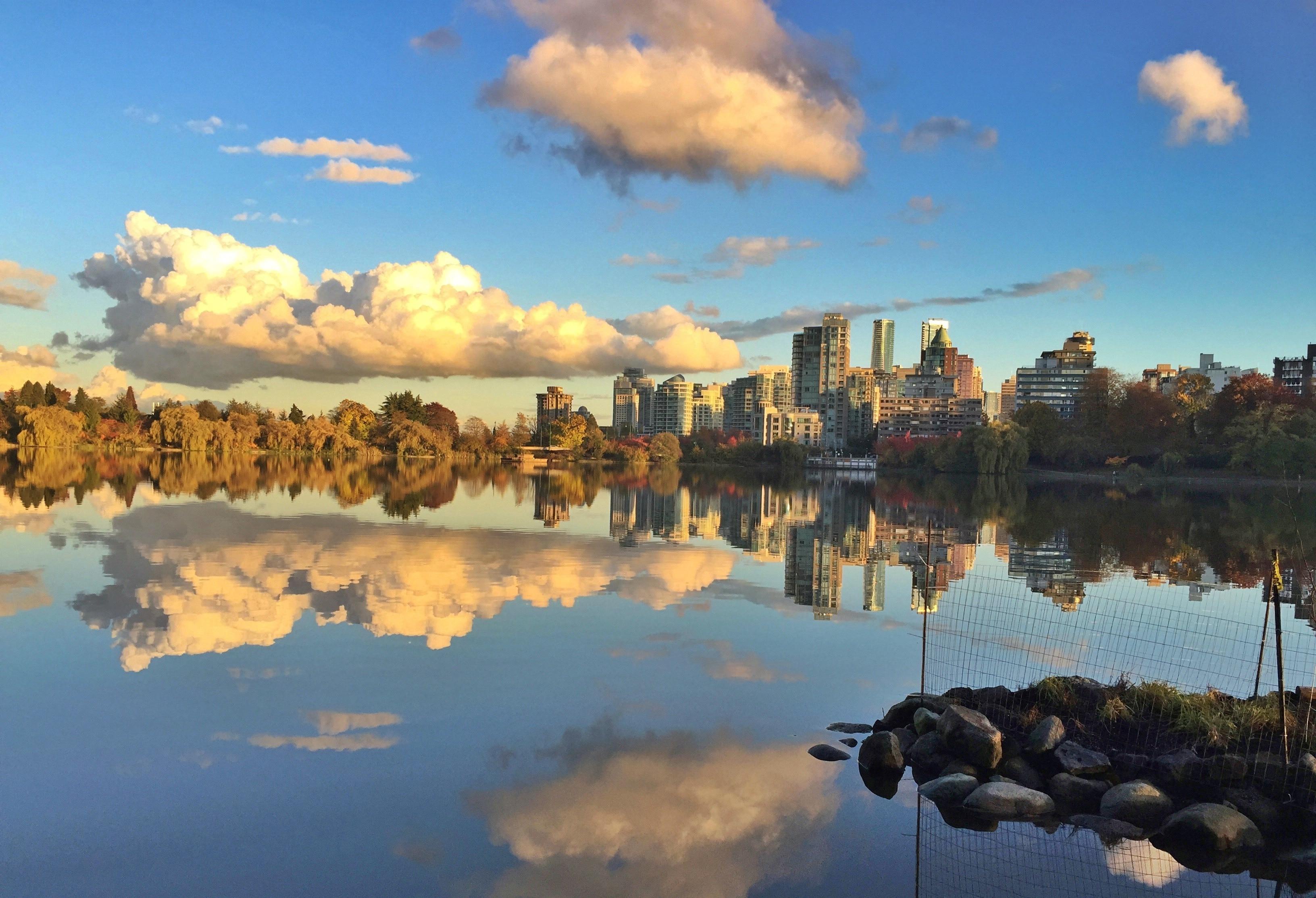 Lost Lagoon, Vancouver, British Columbia, Kanada