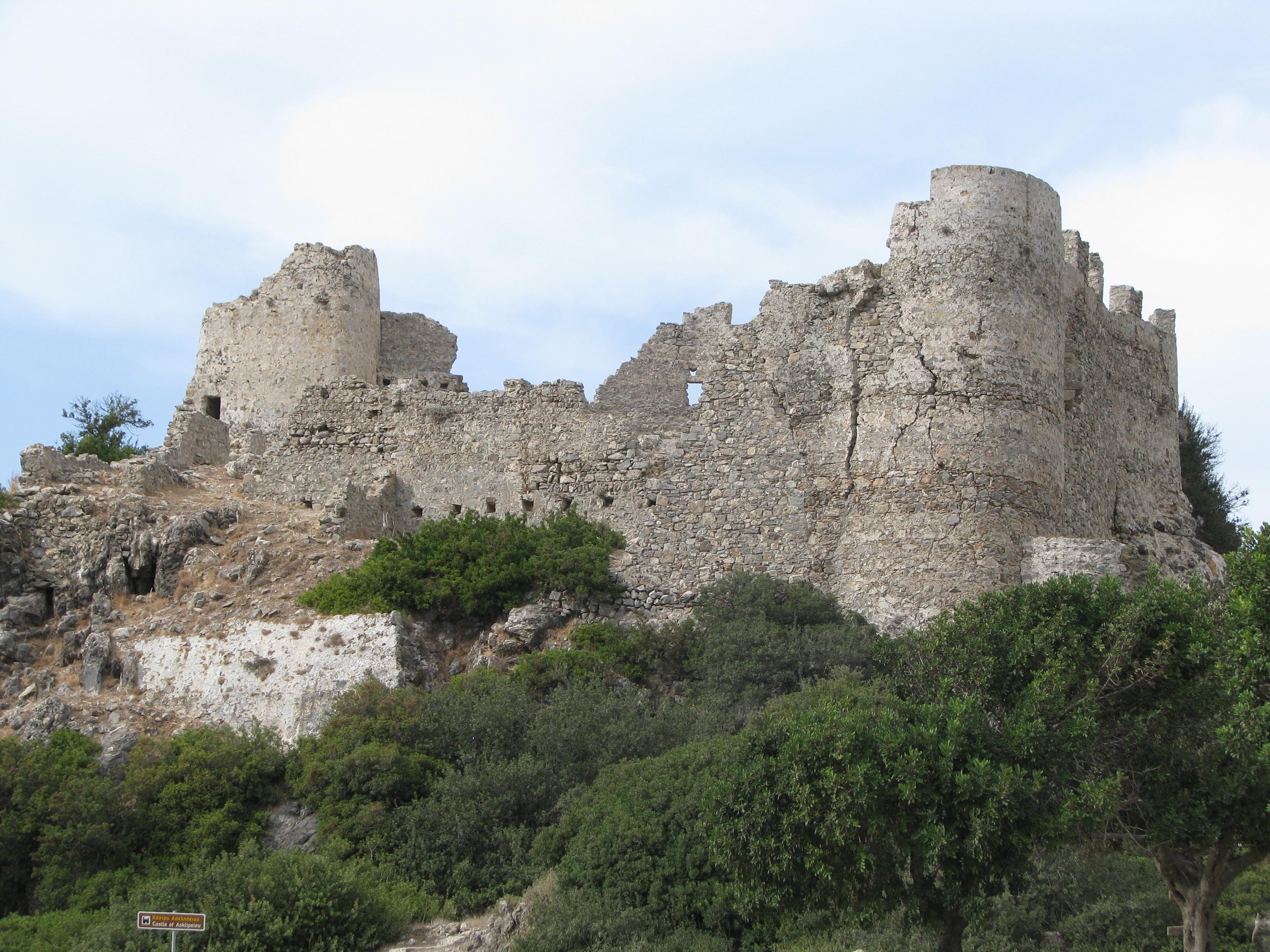 Asklipio Castle, Rhodes, South Aegean, Greece
