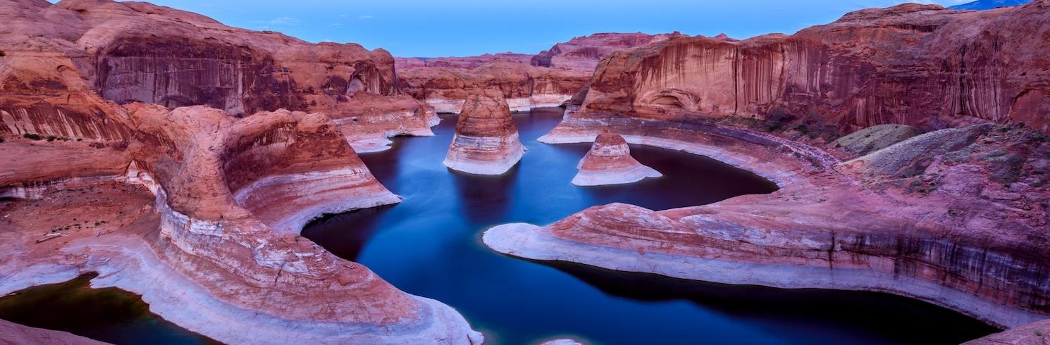 Glen Canyon nasjonale friluftsområde, Utah, USA