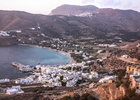 Aegiali, Grčka