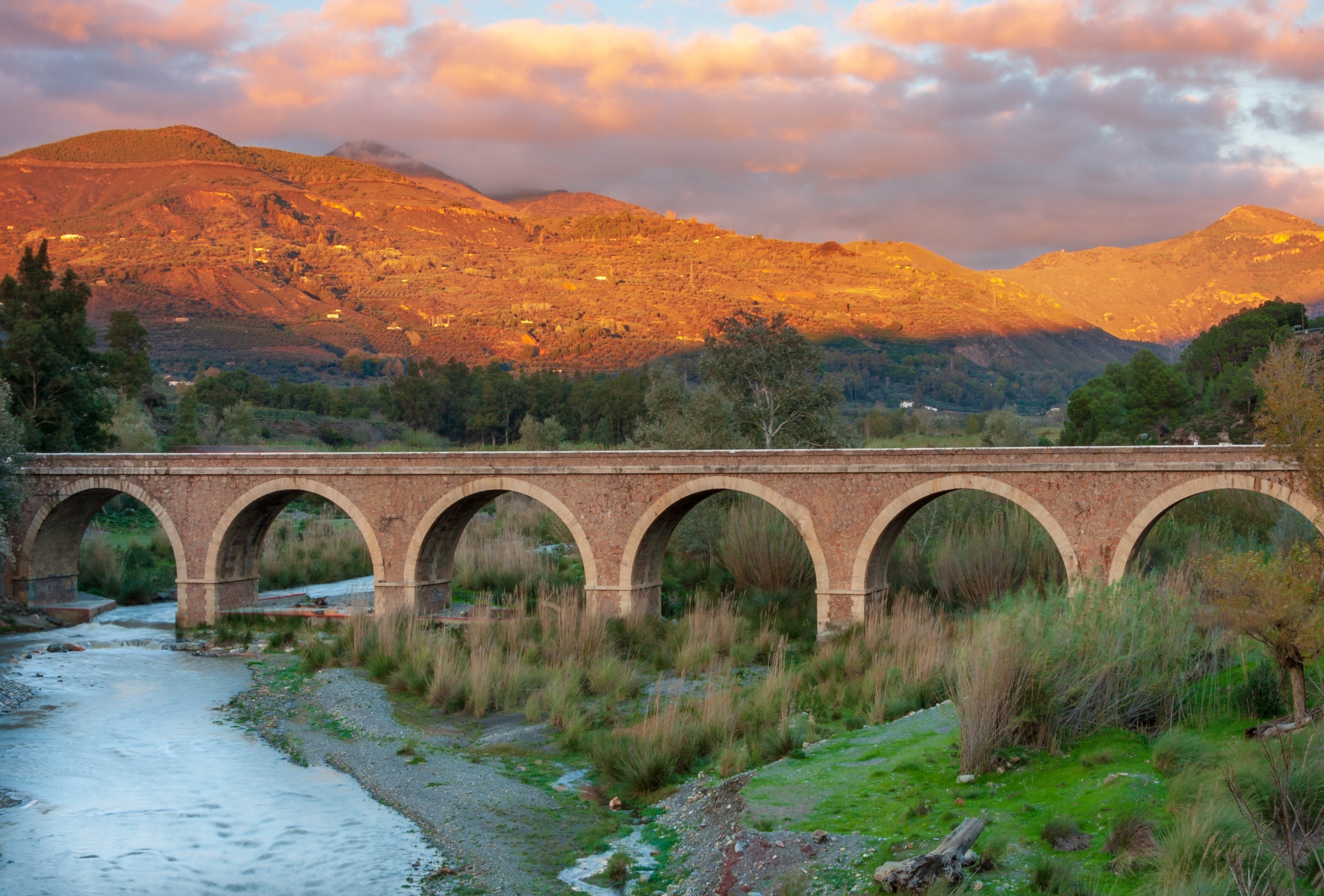 Órgiva, Andalusië, Spanje