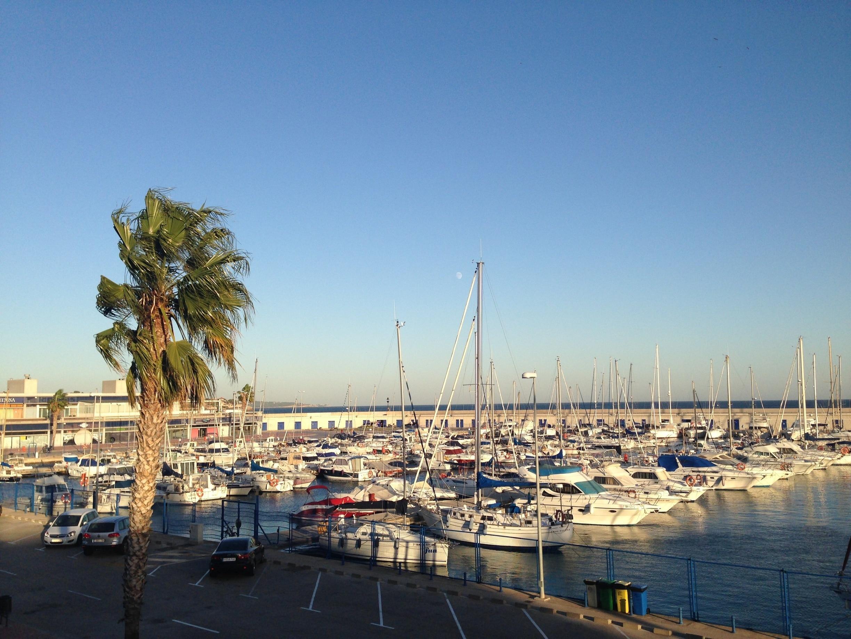 Tarragona Port, Tarragona, Catalonië, Spanje
