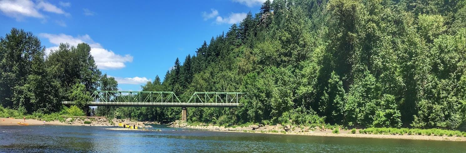 Troutdale, Oregon, USA