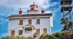 Yaquina Bay Lighthouse (Leuchtturm an der Yaquina Bay)