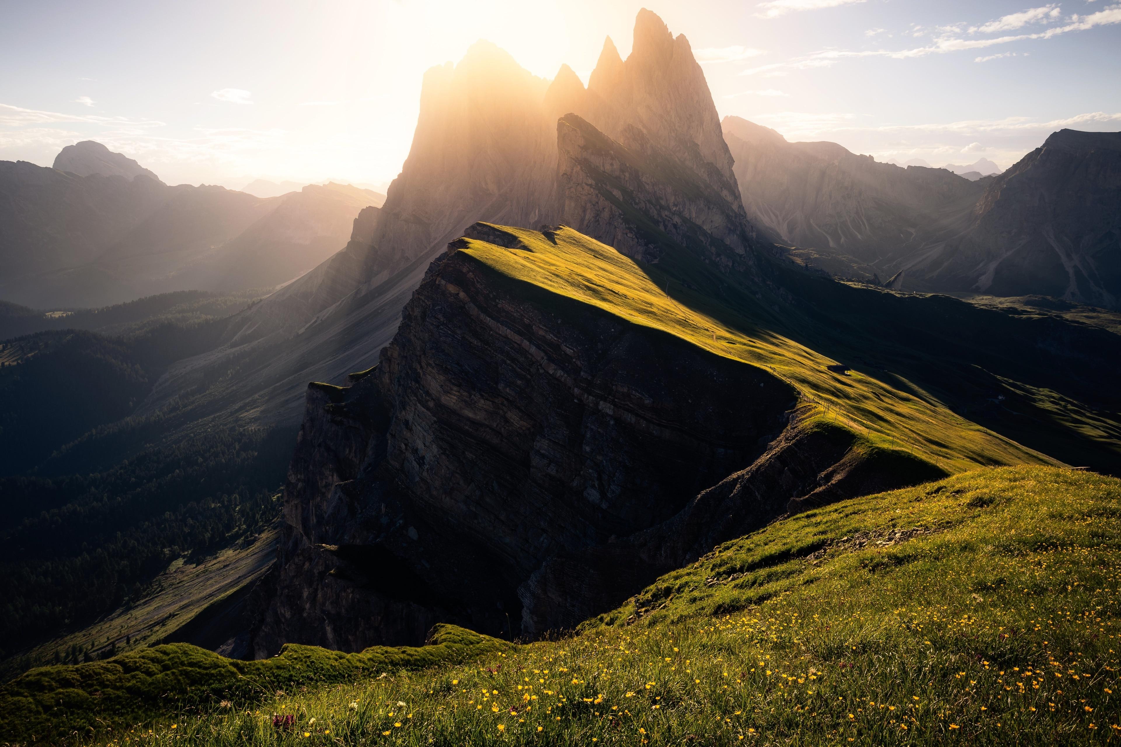 Seceda Ski Area, Ortisei, Trentino-Alto Adige, Italy