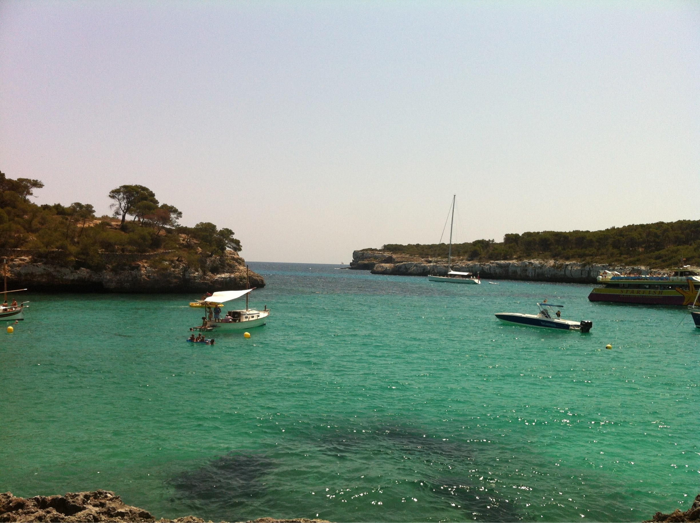 Cala Mondrago Beach, Santanyi, Balearic Islands, Spain
