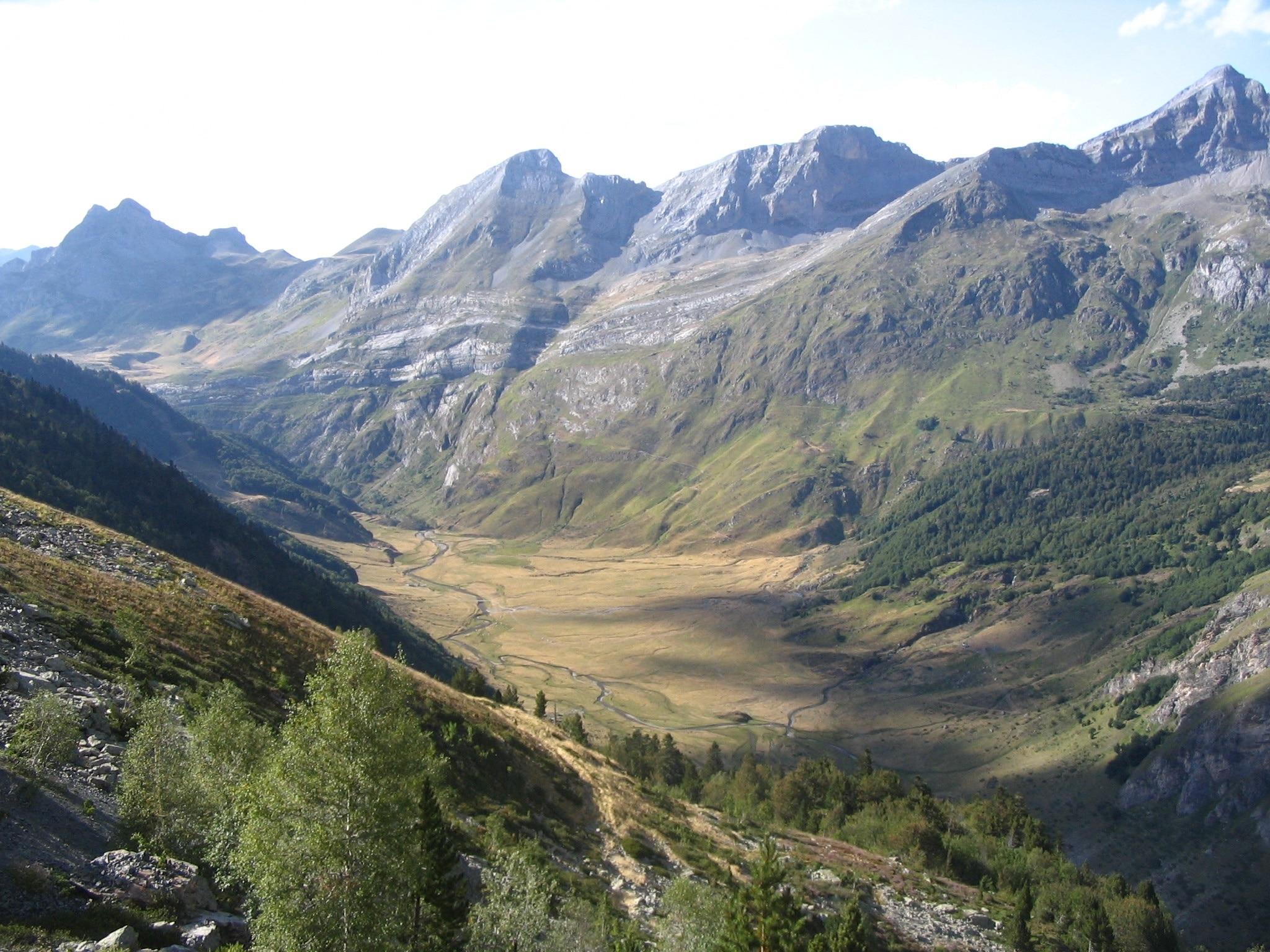 Laruns, Département Pyrénées-Atlantiques, Frankreich