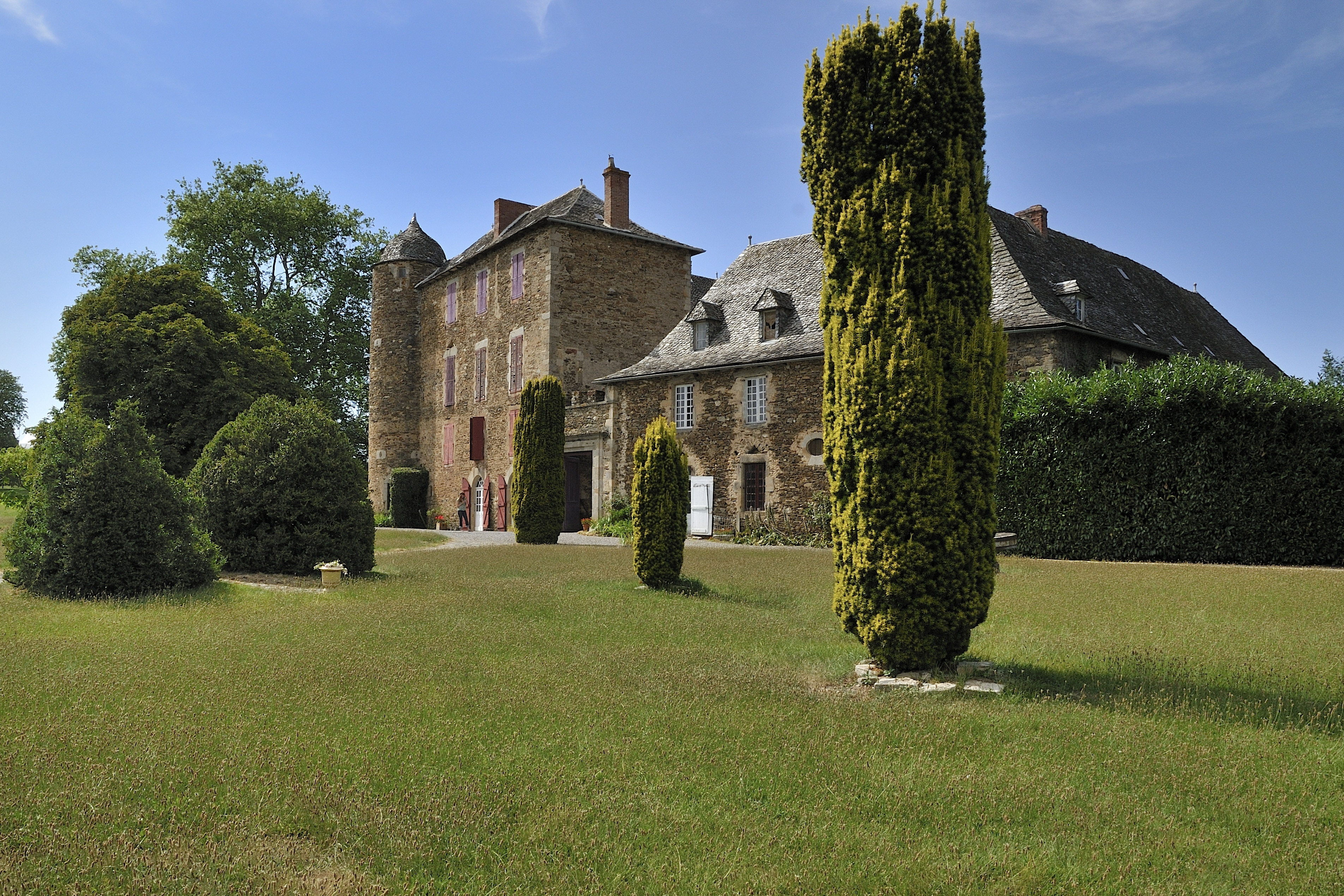 Château du Bosc, Camjac, Aveyron, Frankrijk