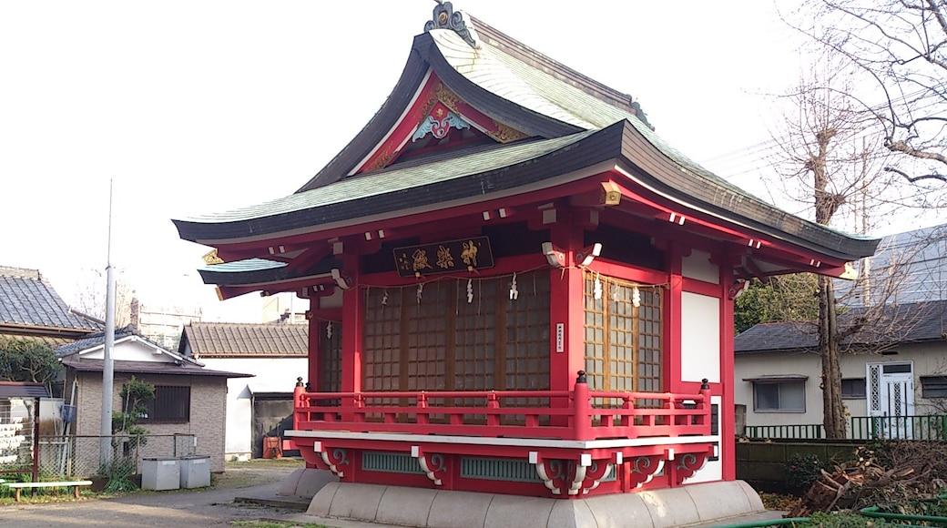 神楽殿(松戸浅間神社)