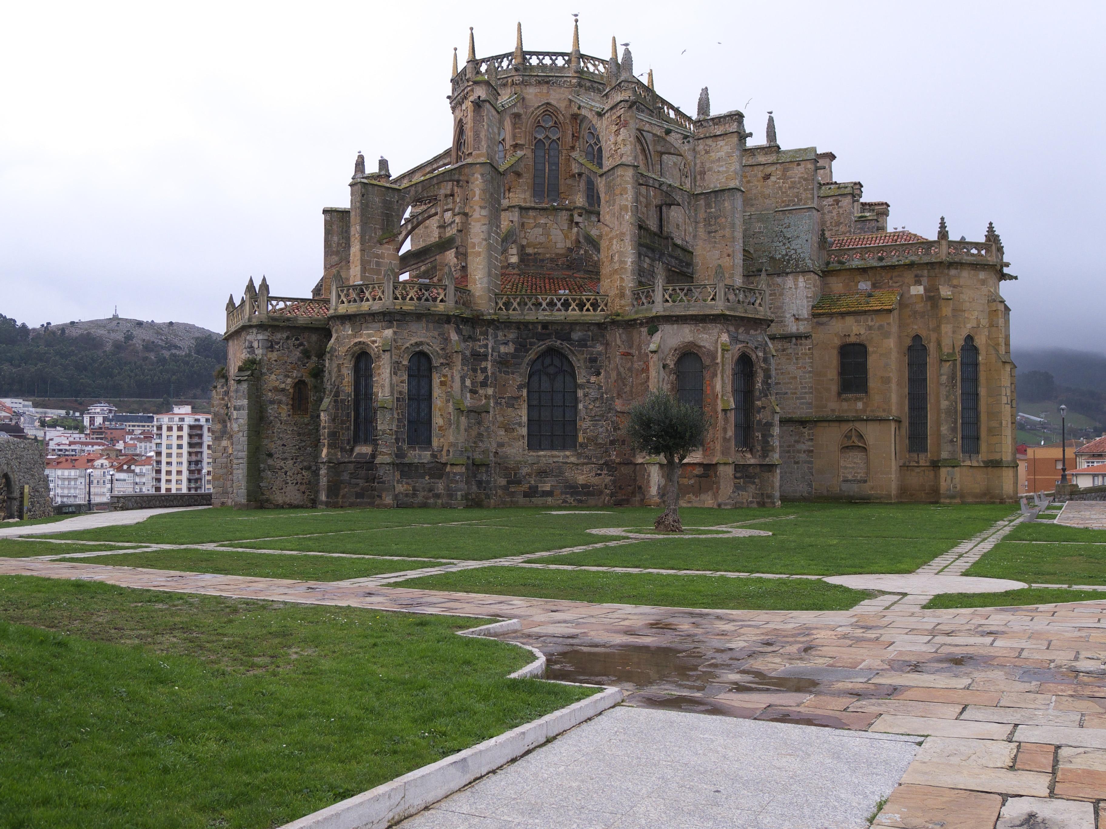 Santa Maria Church, Castro Urdiales, Cantabria, Spain