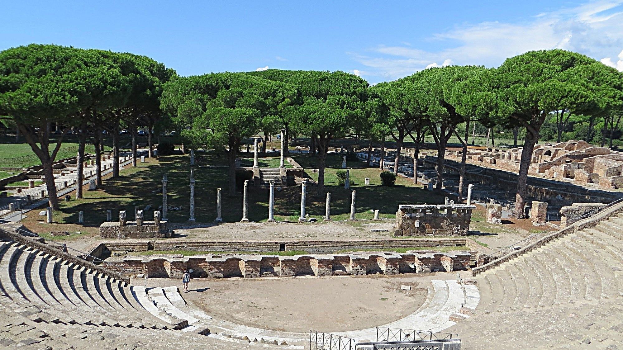 Ostia Antica, Rom, Latium, Italien
