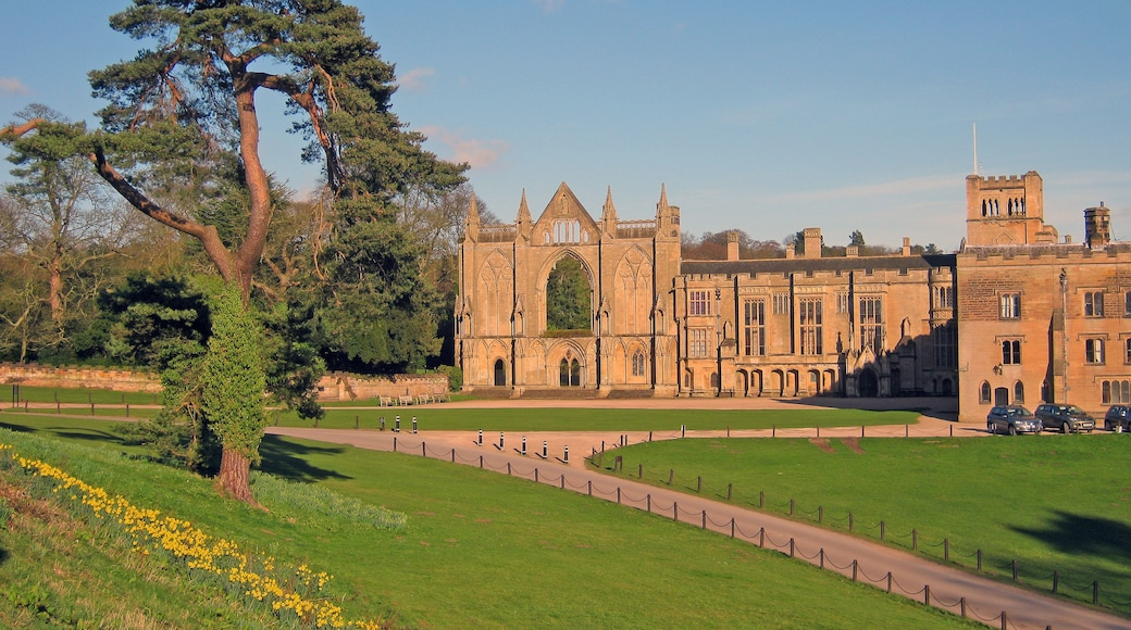 "Photo ""Newstead Abbey"" by Trevor Rickard (CC BY-SA) / Cropped from original"