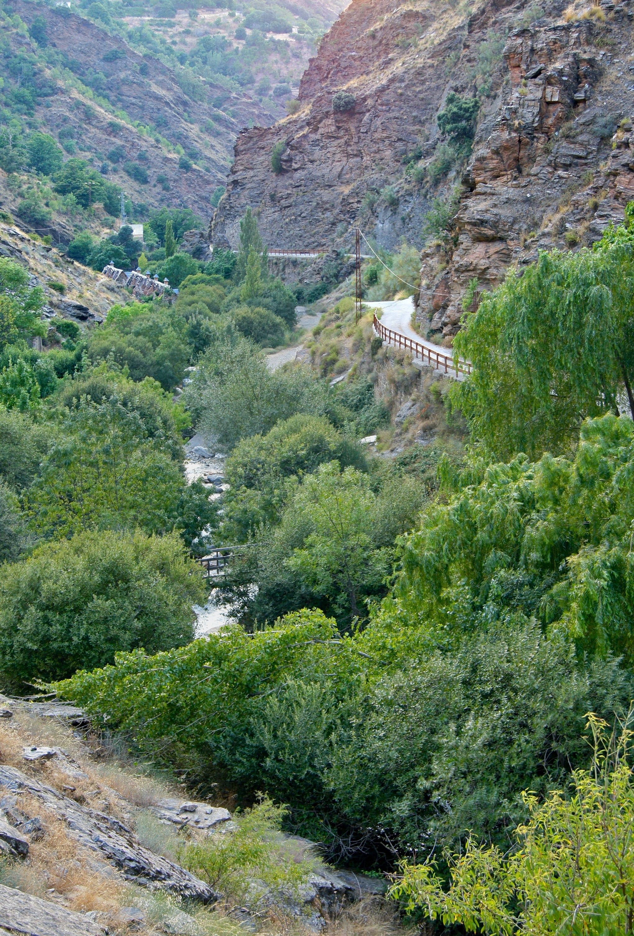 Güejar Sierra, Andalusië, Spanje