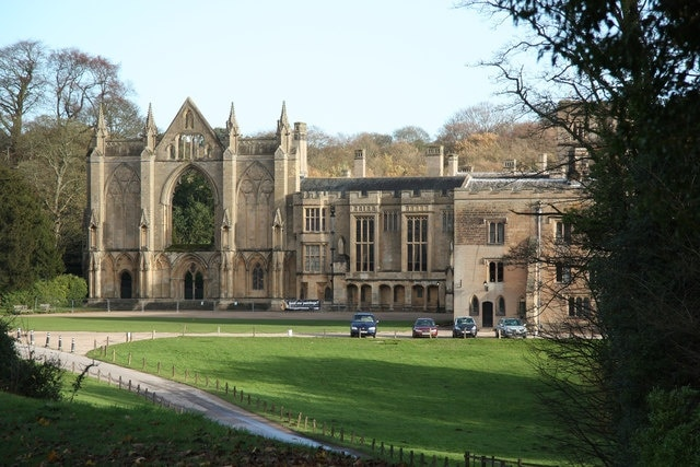 Newstead Abbey, Nottingham, Engeland, Verenigd Koninkrijk