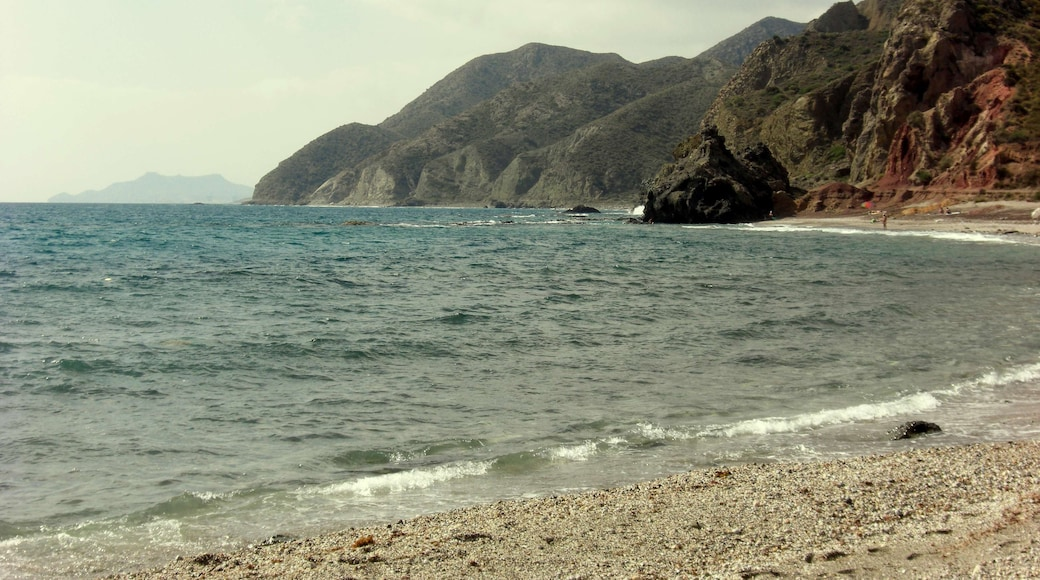 """Photo """"Sombrerico Beach"""" by INDALOMANIA (CC BY-SA) / Cropped from original"""