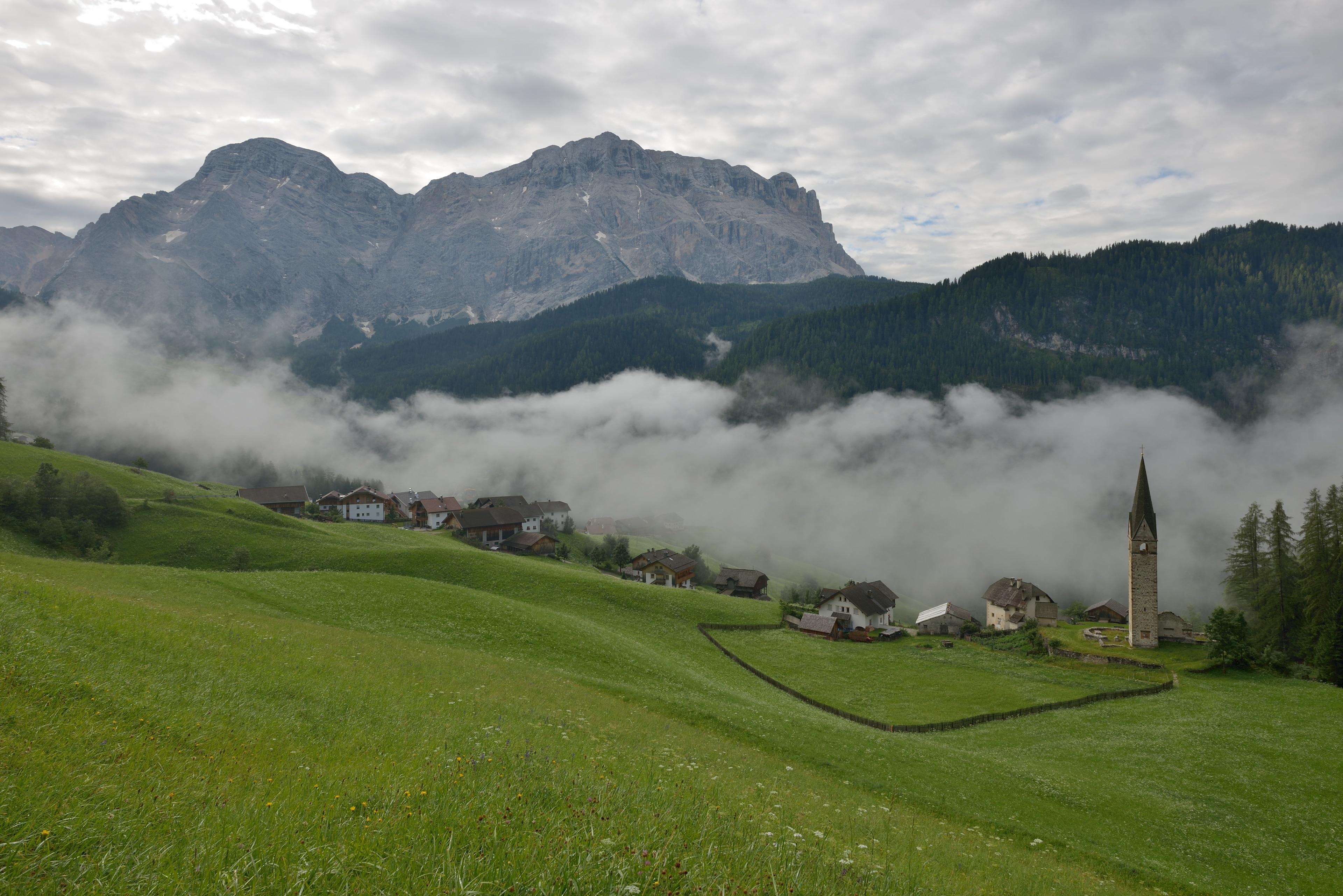 Wengen, Trentino-Südtirol, Italien