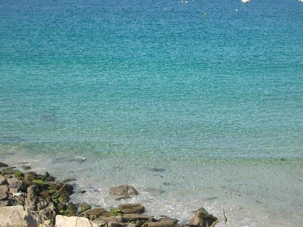 Strand Les Blancs Sablons, Frankreich